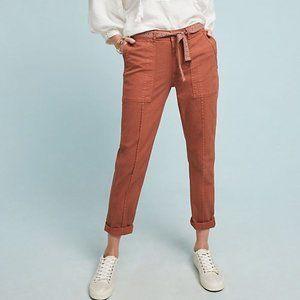 ANTHRO The Wanderer Orange Utility Slim Pants 25